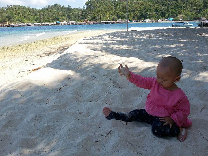 pasir putih ringan