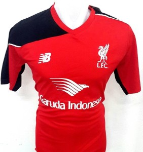 Jersey Liverpool-Garuda Merah-Hitam